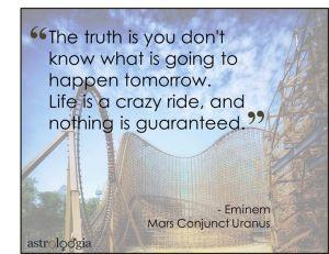 mars uranus