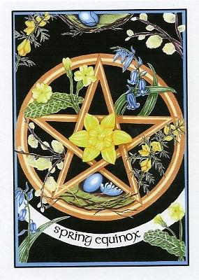 ostara pentagram