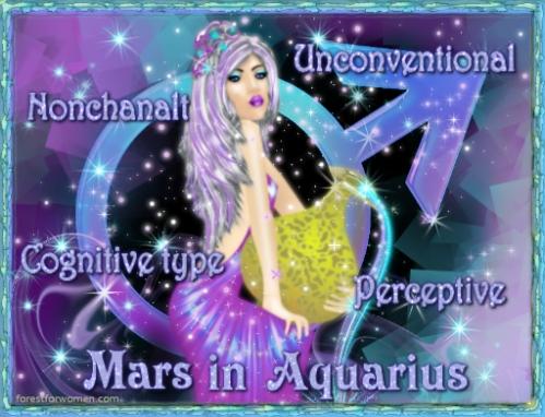 mars aquarius