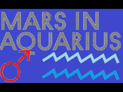 mars in aquarius 1