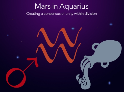 mars into aquarius