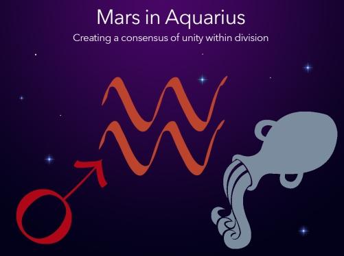 mars into aquarius